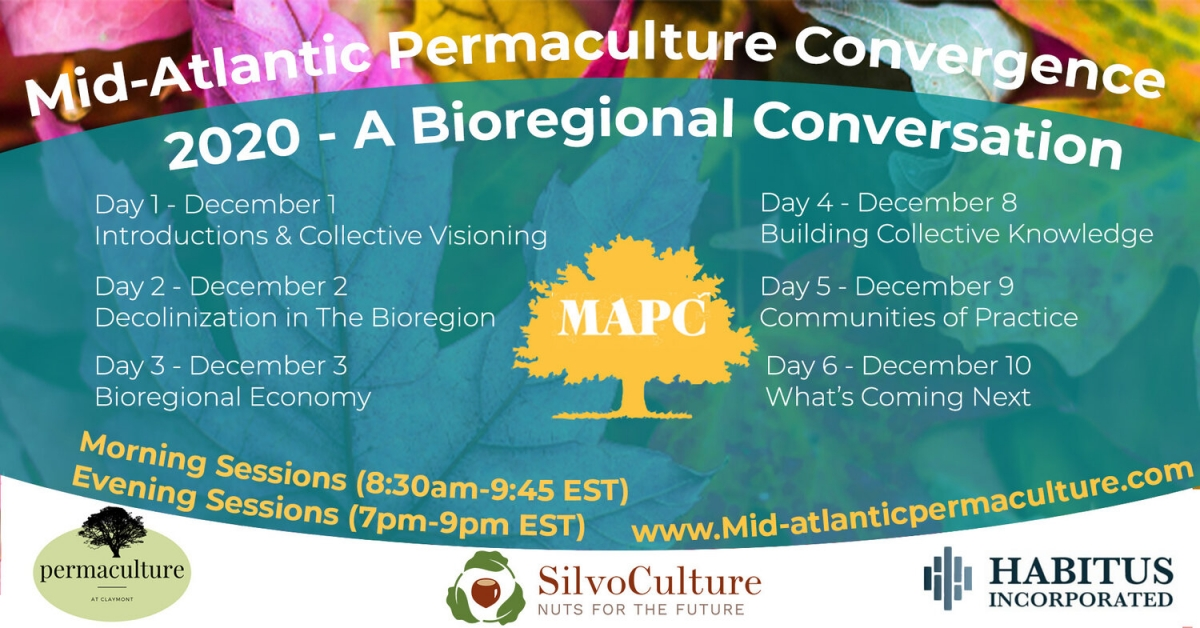 Mid-Atlantic Permaculture Convergence flyer
